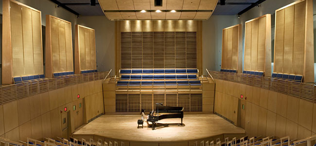 Studzinski Recital Hall, Bowdoin College