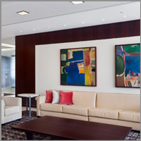 Acoustical Wall Panels From Fabric Wall