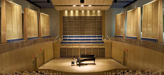 Studzinski Recital Hall, Bowdoin College